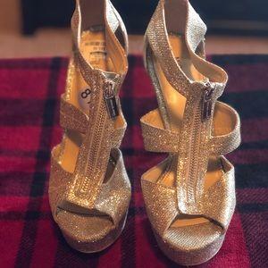 Micheal Michael Kohr's Glitter Heels.